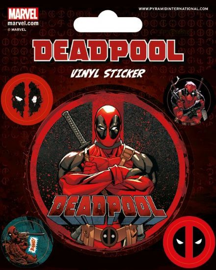 Marvel Deadpool Vinyl Stickers